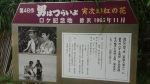 奄美大島の看板