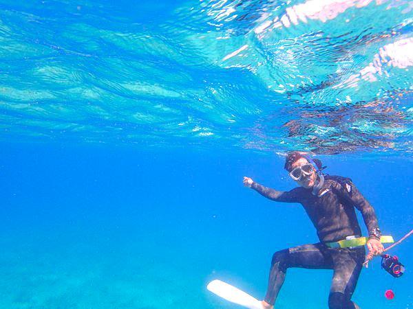 【地域共通クーポン対象】魚と泳ごう!素潜りも!奄美大島3時間ボートシュノーケリング(No.20)