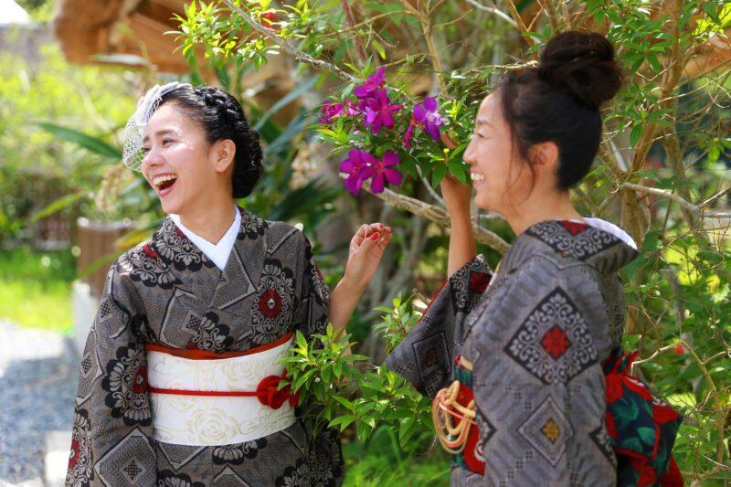 【奄美大島】一度は着ておきたい!世界三大織物にも選ばれる『大島紬』着付け体験(No.26)