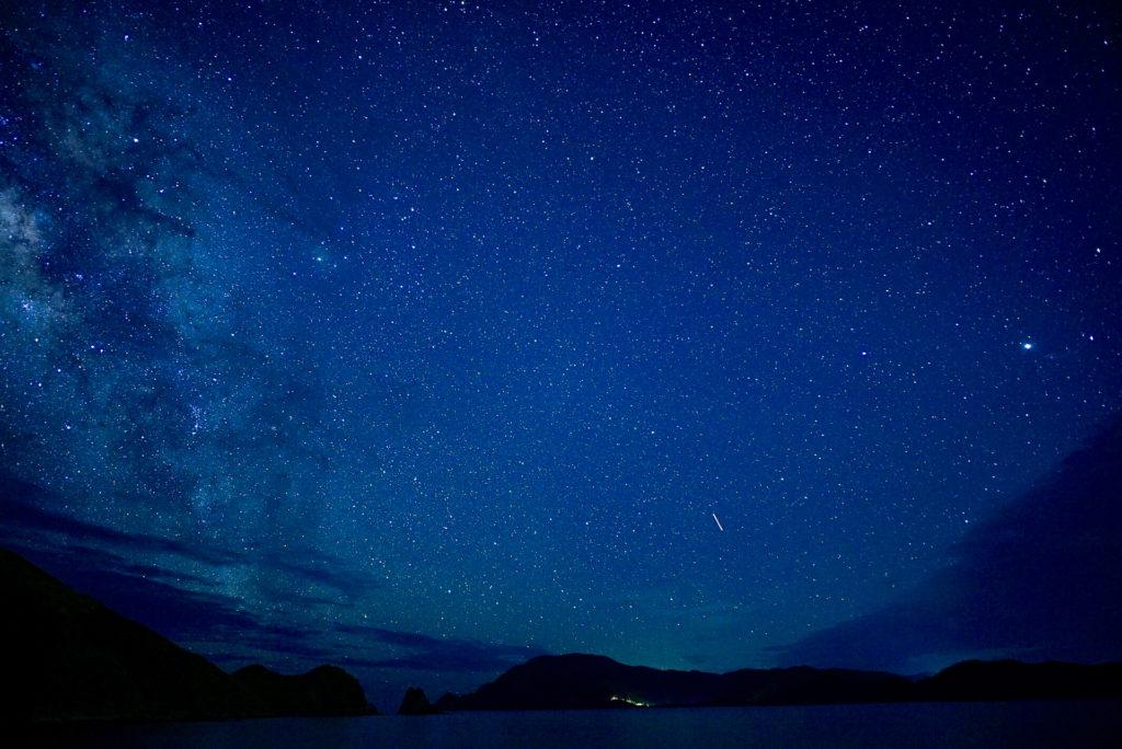 奄美の夜空