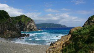 奄美大島のホノホシ海岸