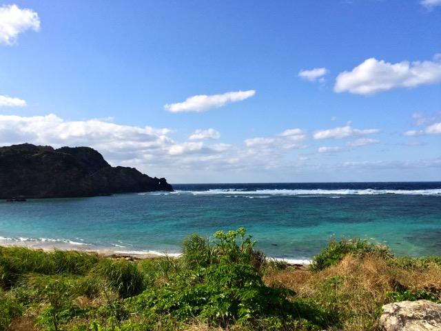 奄美大島の船越海岸