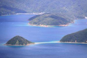 奄美大島の油井岳