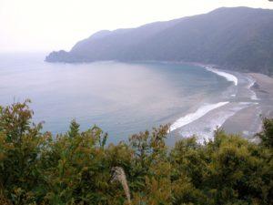 奄美大島の嘉徳海水浴場