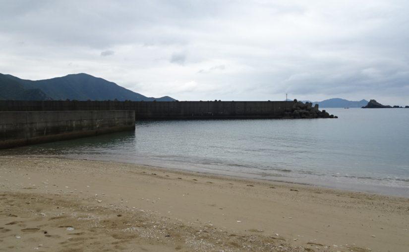 奄美大島の西阿室海岸