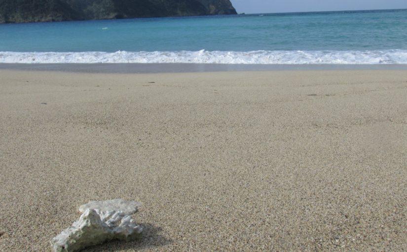 奄美大島の国直海岸
