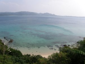 奄美大島の倉崎ビーチ