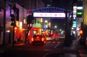 奄美大島の屋仁川通り