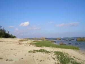 奄美大島の大瀬海岸