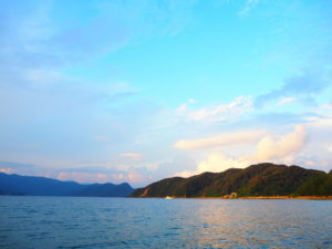 奄美大島の渡連海水浴場
