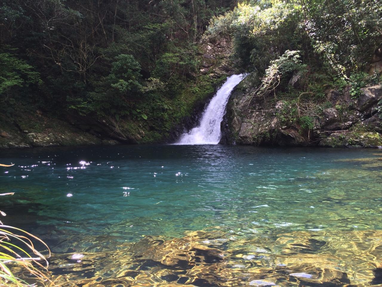 奄美大島の奄美フォレストポリス (マテリヤの滝)