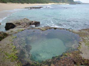 奄美大島の手広海岸
