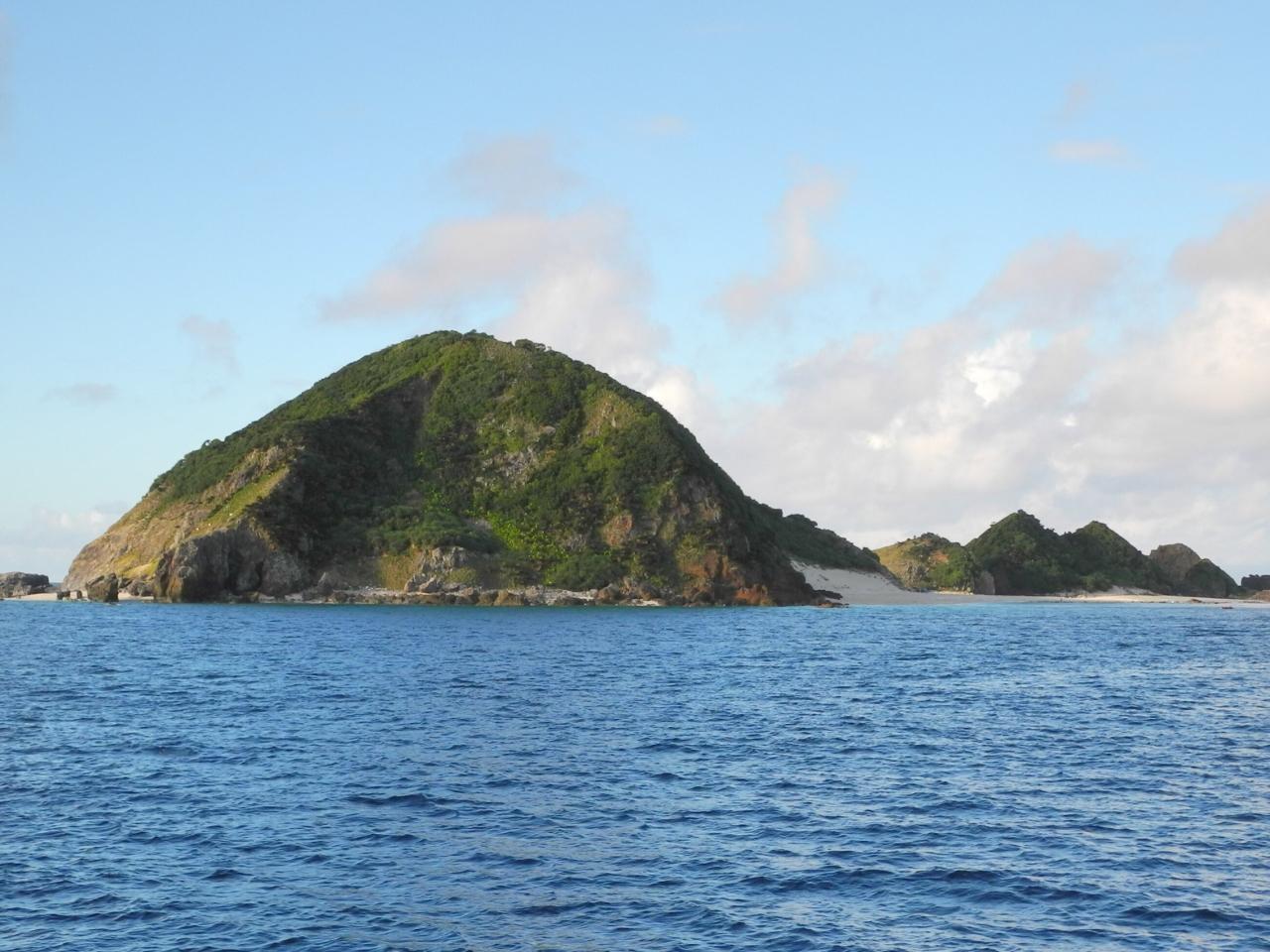 奄美大島のハンミャ島